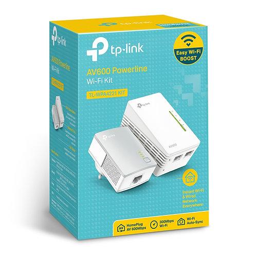 TP-Link 300Mbps TL-WPA4221 KITAV600 Wi-Fi Powerline Extender Starter Kit