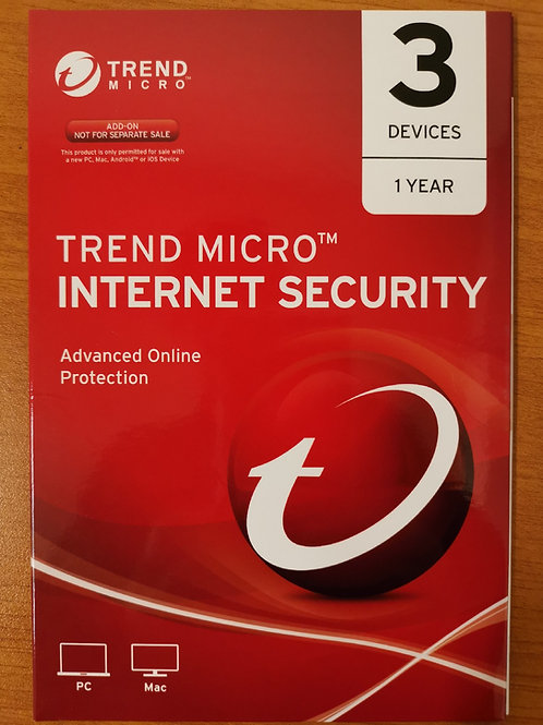 Trend Micro Internet Security 3 Devices