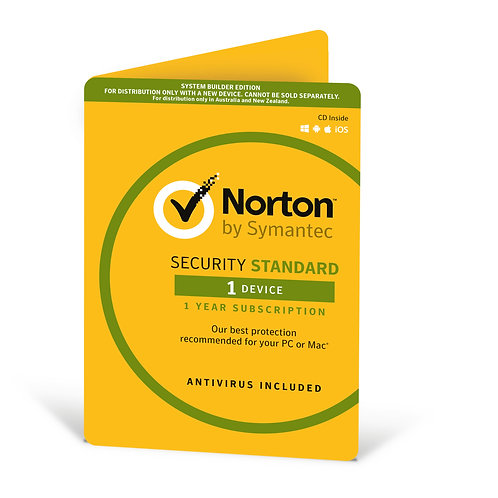 Norton Security Deluxe OEM 1 Devices, 1 Year, Digital Download (No CD Media)