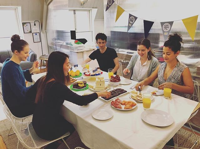 We love a good excuse for morning tea!! ☕️ 🍰 Seven of us in the office today so we decided to celeb