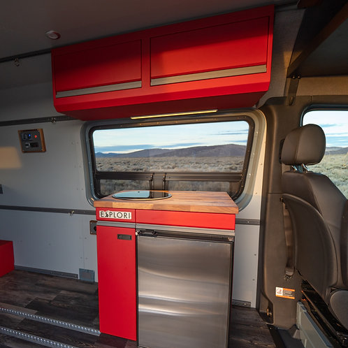 Aluminum Cabinets for 07+ Sprinter Van