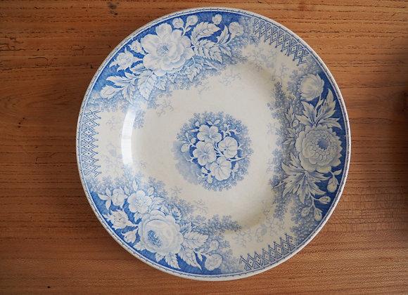 Assiettes plates «Jardinière»