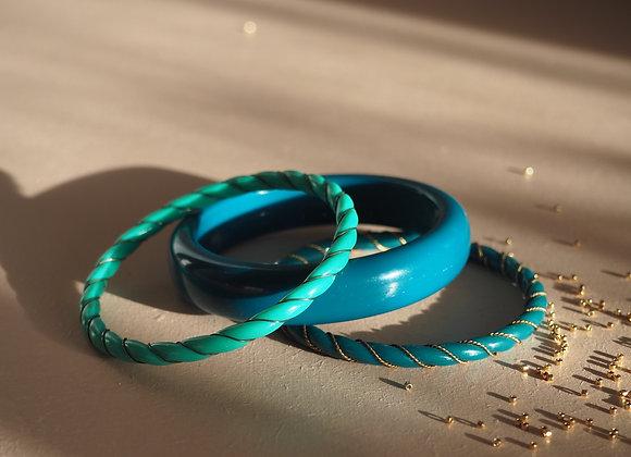 En turquoise!