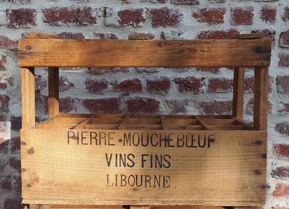 Caisse de vin Pierre