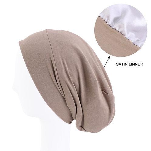 Turban caps with Satin lining