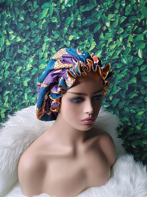 African Satin Bonnet