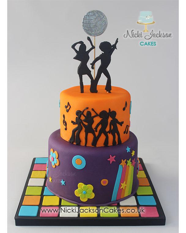 Jane Donachy Disco Cake