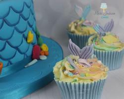 Pearl's Mermaid Cupcakes