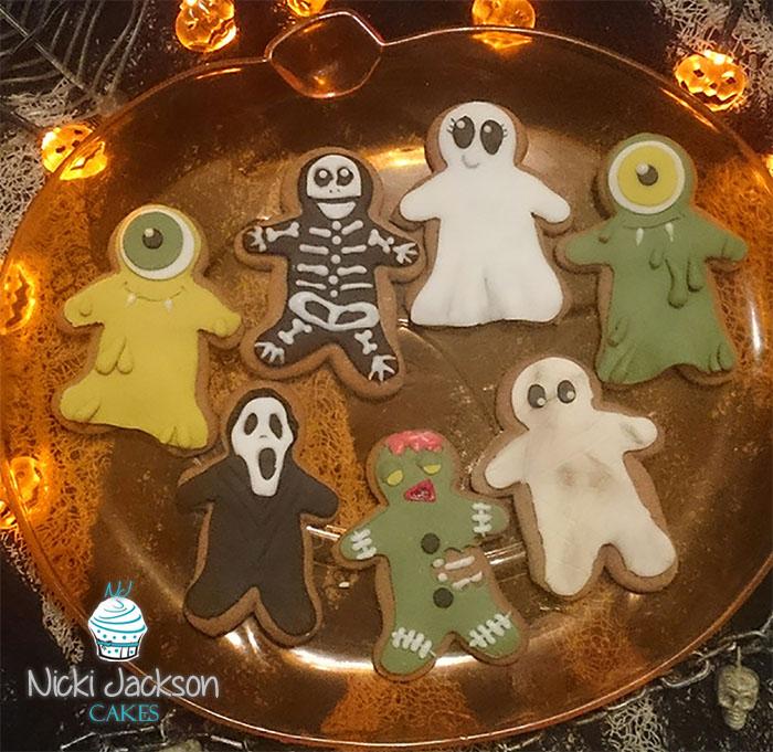 Hallowe'en Gingerbread