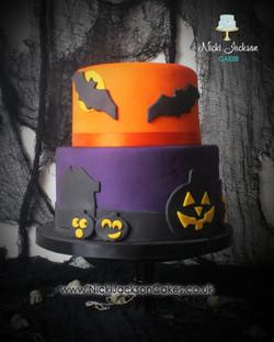 Hallowe'en cake 2019