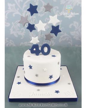 Blue & Silver Starburst Cake.jpg