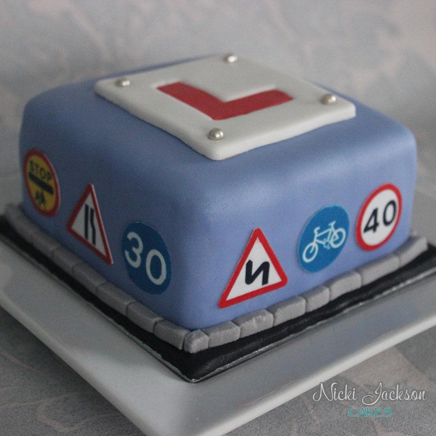 Learner Driver Mini Cake