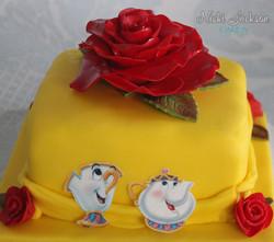 Beauty Beast Mini Cake