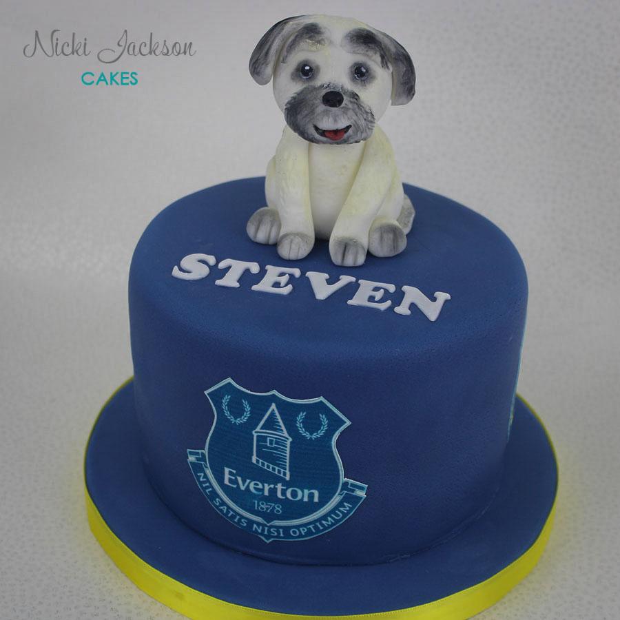 Everton Dog Cake
