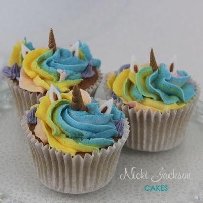 Unicorn Matching Cupcakes