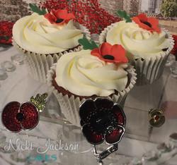 Poppy Appeal Cakes