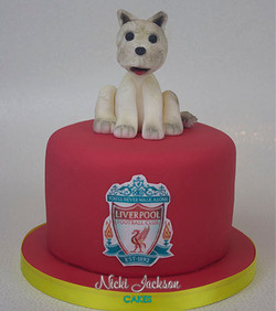 Liverpool Dog Cake