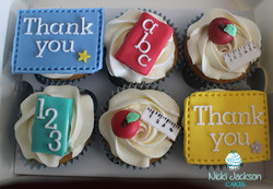 Teacher Thank You Cupcakes