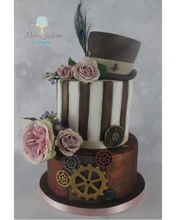 Nicki's Steampunk Cake