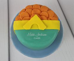 Aquaman mini cake