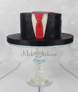 Assassin's Cake Agent 47 Cake
