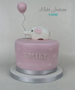 Elephant Balloon Cake