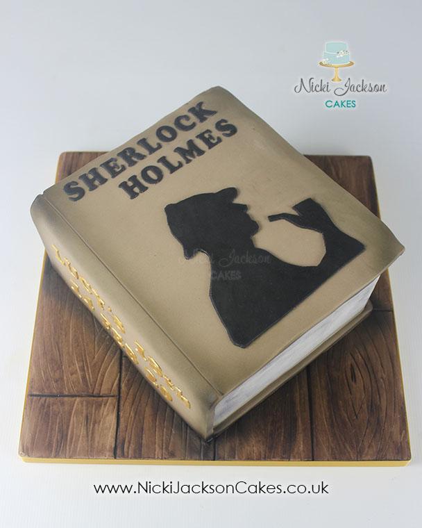 Sherlock Cake 1