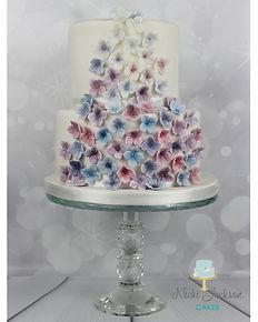 Hydrangea cascade cake (IMG_6265) FULL (