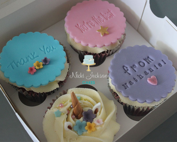Teacher Thank You cupcakes 2018