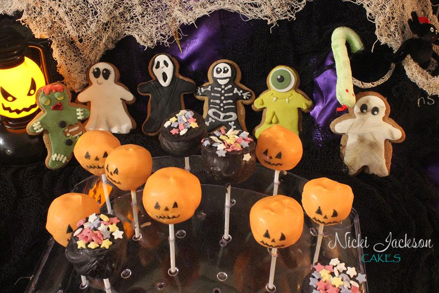 Hallowe'en Gingerbread & Cake Pops