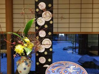 ウエスティンホテル東京で貴瑛が展示されました