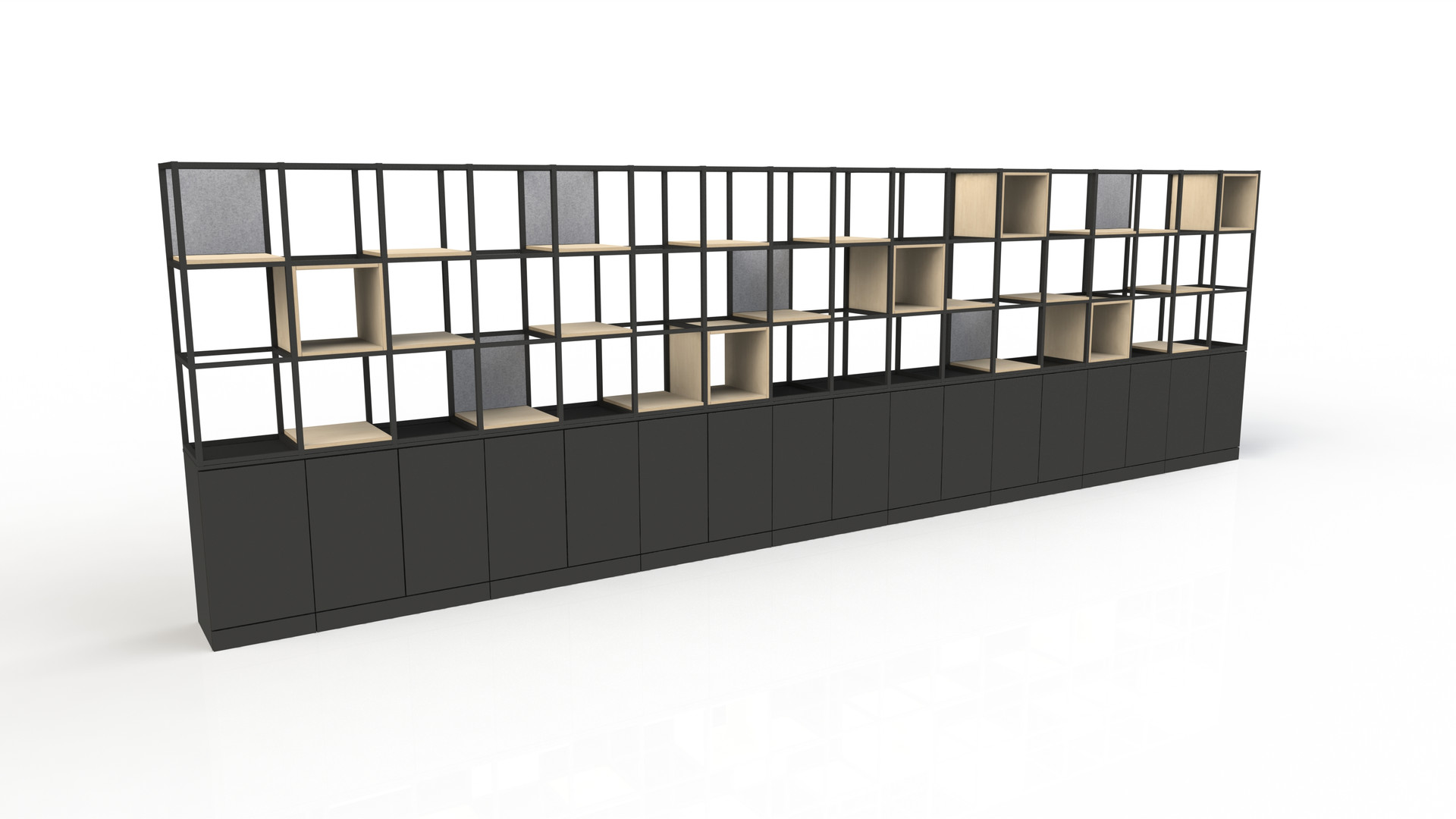 Freewall Qube render 6