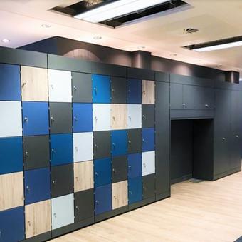 Freewall Storage Wall Alcove Units 8