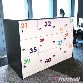 Freewall Pre-built Storage Units 10
