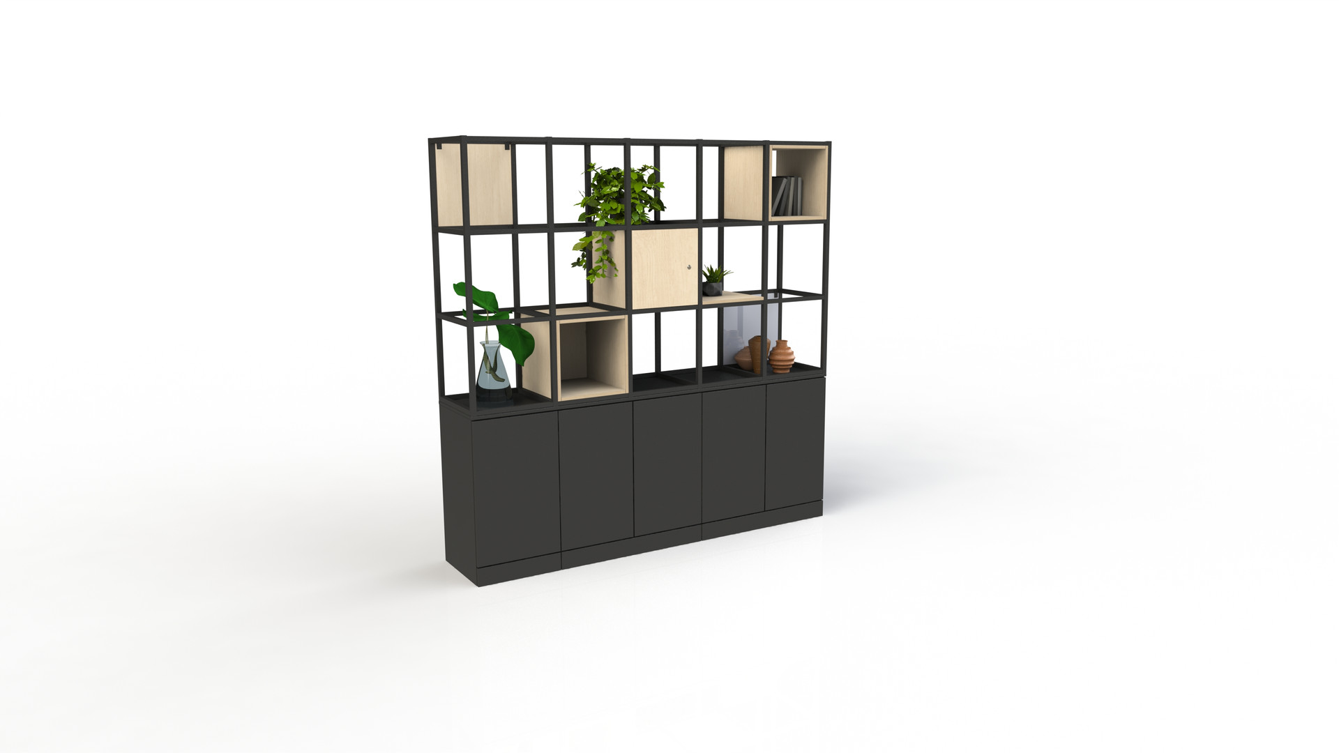 Freewall Qube render 3