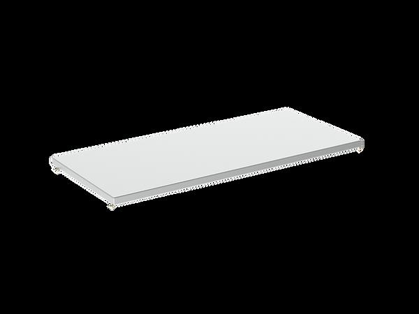 3D render of Freewall's plain steel shelf storagewall internal accessory