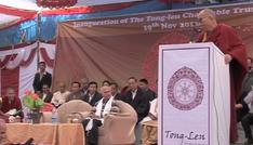 His Holiness the 14th Dalai Lama inaugurates Tong-Len Charitable Trust