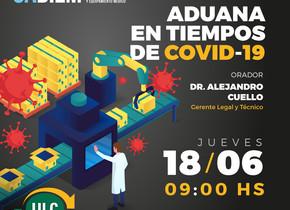 Webinar | Aduana en Tiempos de COVID