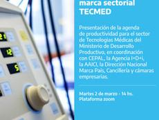 Evento lanzamiento de Marca Sectorial Industria Médica Argentina