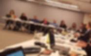 Participamos de la reunión sobre proyecto AGNET en el BID