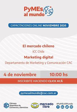 Capacitación Exportadores: El mercado chileno + Marketing digital