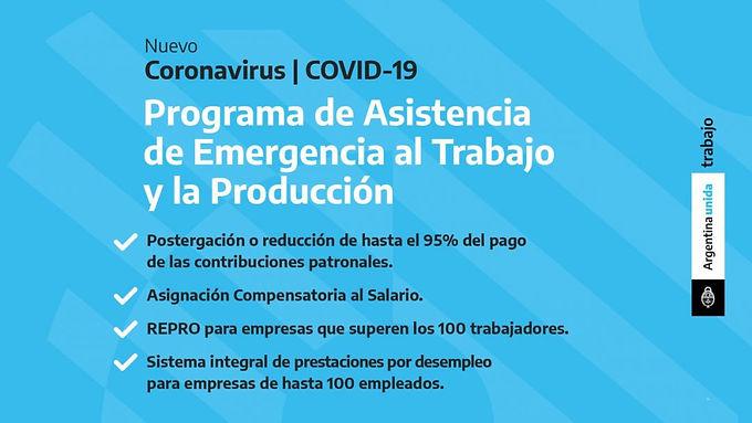 Decreto 332/2020: Programa de Asistencia de Emergencia al Trabajo y la Producción