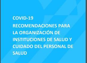 Ministerio de Salud - Recomendaciones para la organización de instituciones de salud