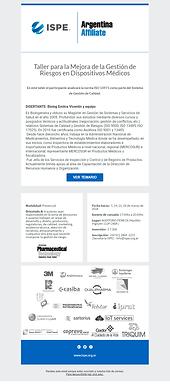 Beneficio Socios 15%OFF | Taller de Gestión de Riesgo en Dispositivos Médicos.