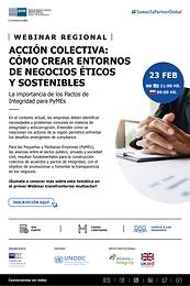 """""""Acción Colectiva: cómo crear entornos de negocios éticos y sostenibles"""""""