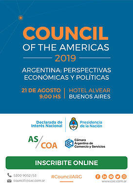 Council of the Americas 2019 | 21-08