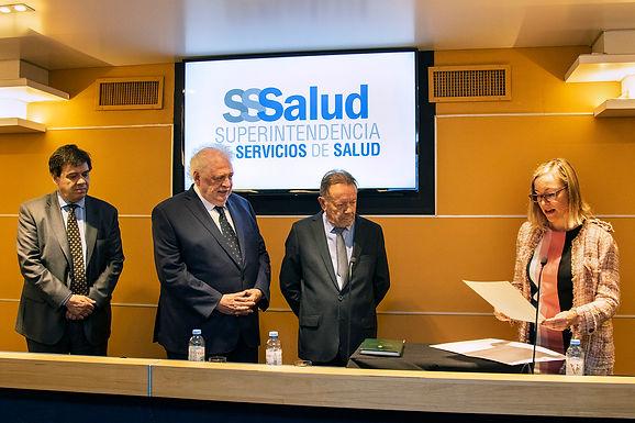 Ginés González García puso en funciones a las autoridades de la ANMAT y de la Superintendencia de Se
