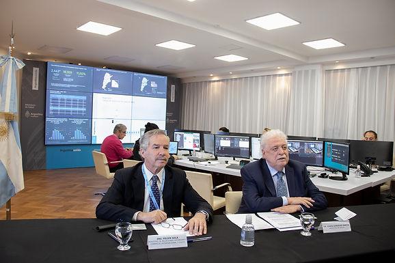 Ministros de RR.EE. y Salud de Argentina y Chile sostuvieron reunión virtual por coronavirus