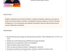 """Beneficio Socios """"Nuevas Normas Cambiarias – Com. «A» 7272 Y «A» 7313"""""""