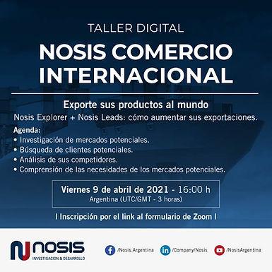 Taller Digital   Exportación: análisis de mercados y clientes potenciales.